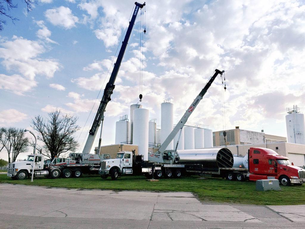 crane and rigging services